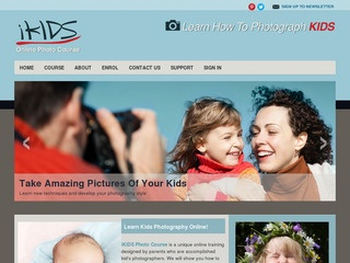 iKids Photography Course For Mums