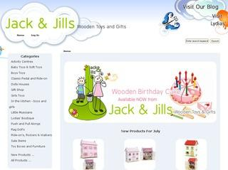 Jack and Jill's Wooden Toys and Gifts