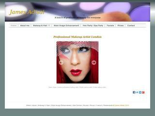 James Adisai - London Makeup Artist