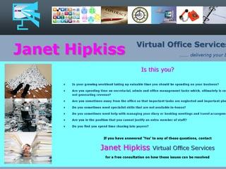 Janet Hipkiss Virtual Office Services