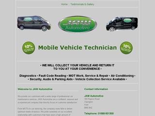 JAW Automotive Ltd Mobile Vehicle Technician