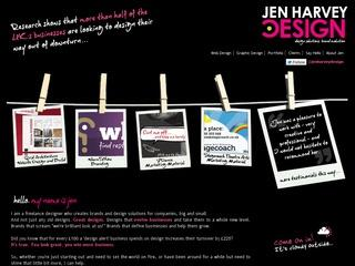 Jen Harvey Freelance Graphic Design