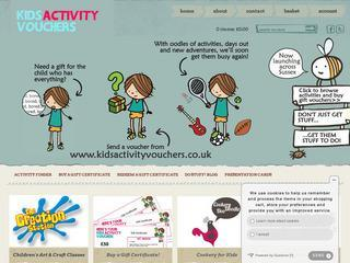 Kids Activity Vouchers