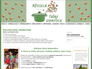 Kitchen Fairy Godmother