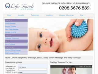 Pregnancy Massage, Doula and Baby Massage Instructor in North London