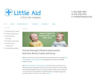 Paediatric First Aid Training and Courses