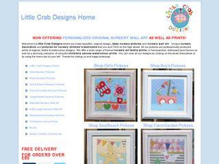 Nursery Wall Art & Pictures by Little Crab Designs