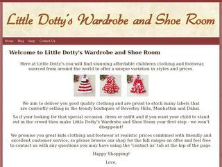 Little Dottys Wardrobe and Shoe Room
