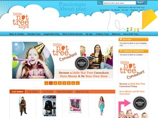 Become a Little Nut Tree Toys Consultant