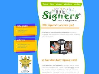 Little Signers baby signing