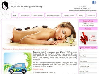 london mobile massage and beauty