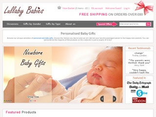 Personalised UK Baby Gifts
