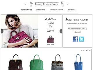 Luxury Leather Goods - Leather Handbags