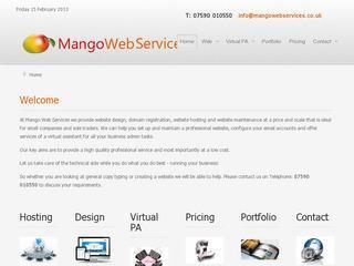 Mango Web Services
