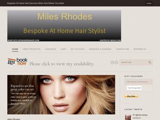 Miles Rhodes Bespoke At Home Hair Stylist