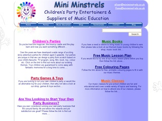 Mini Minstrels