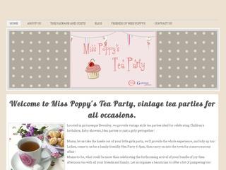 Miss Poppy's Tea Party