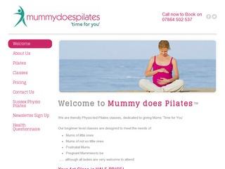 Mummy does Pilates