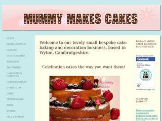 Mummy Makes Cakes - Cambridgeshire