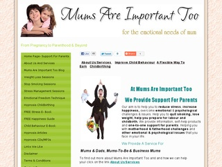 Mums Are Important Too