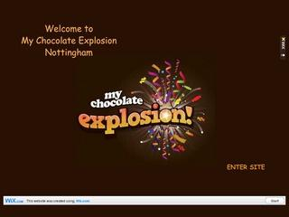 MY CHOCOLATE EXPLOSION- NOTTINGHAM