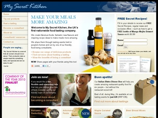 My Secret Kitchen - Helen Mortlock