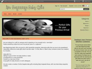 New Beginnings Baby Gifts