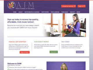 Online Academy Of Irish Music Fiddle Lessons Online