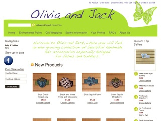 Olivia and Jack Hair Accessories
