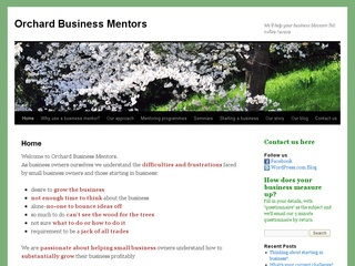 Orchard Business Mentors Cheshire