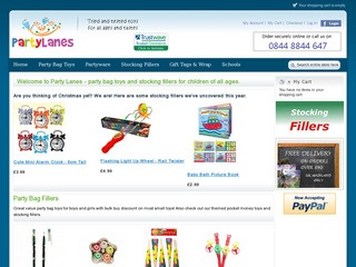 Party Lanes - Children's Party Bag Fillers