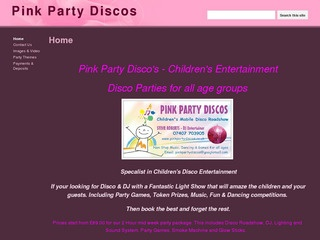 Pink Party Discos