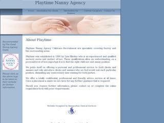 Playtime Nanny Agency