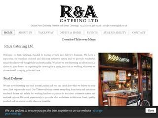 R & A Catering London