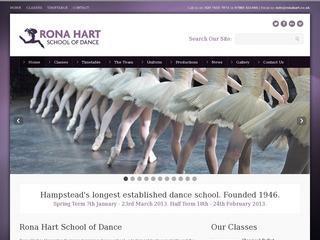Ballet and Tap Classes - Rona Hart School of Dance