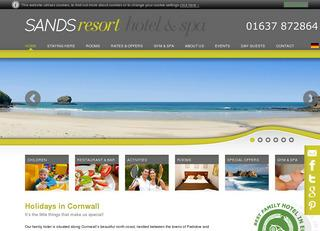 Sands Resort Hotel in Cornwall