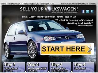 Sell your volkswagen