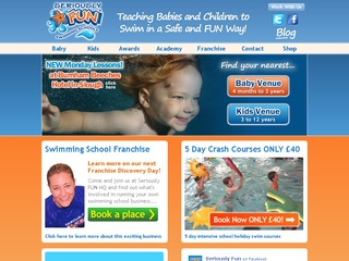 Swimming School Franchise Business Opportunity