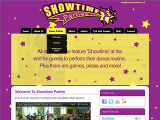 SHOWTIME PARTIES