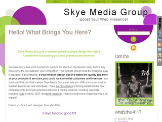 Boost Your Web Presence, Boost Your Revenue with Skye Media Group website design services