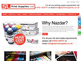 SL Print supplies Ltd