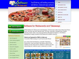 Software for Restaurants