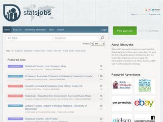 StatsJobs.com - Statistics Careers