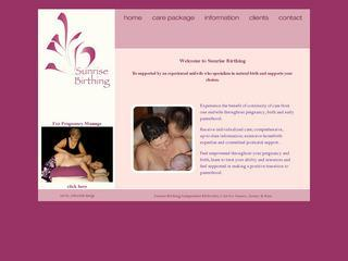 Sunrise Birthing Independent Midwifery Care