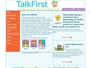 Talk First Baby Signing & Singing