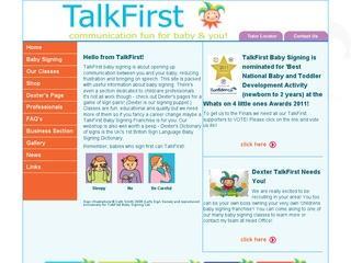 Talk First Baby Signing & Singing
