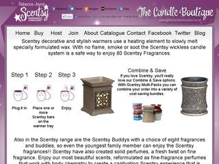 Independent Scentsy Consultant - Scentsy Wickless Candles