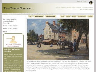 Fine Art Dealers UK:  Oil Paintings, Watercolours Paintings, Contemporary Paintings.