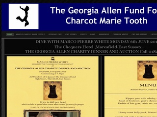 Dine with Marco Pierre White & support the Georgia Allen charity dinner & auction