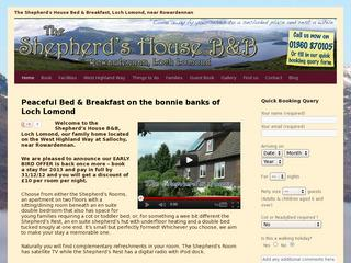 The Shepherd's House Bed & Breakfast, Loch Lomond
